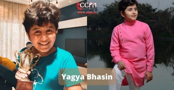 How to contact Yagya Bhasin