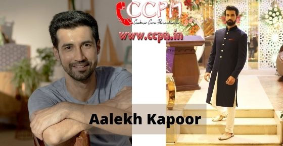 How to contact Aalekh-Kapoor