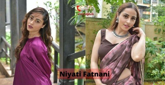 How to contact Niyati Fatnani