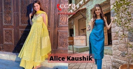 How to contact Alice-Kaushik