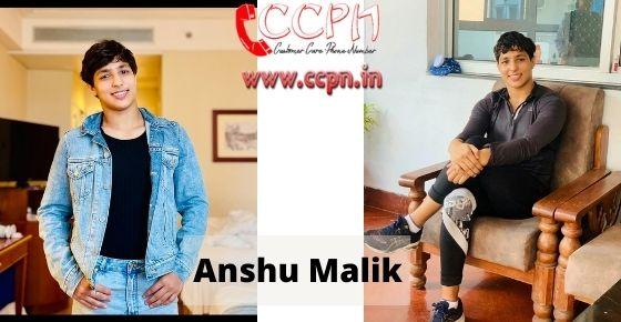 How to contact Anshu-Malik