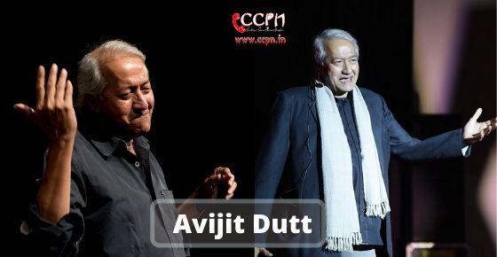 How to contact Avijit-Dutt