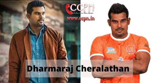 How to contact Dharmaraj-Cheralathan