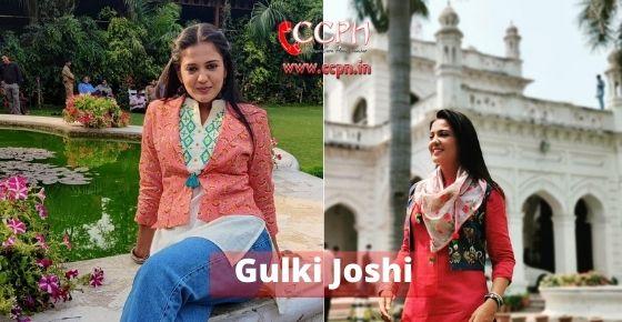 How to contact Gulki-Joshi