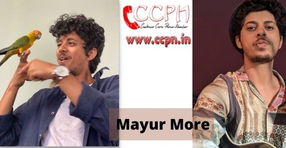 How to contact Mayur-More