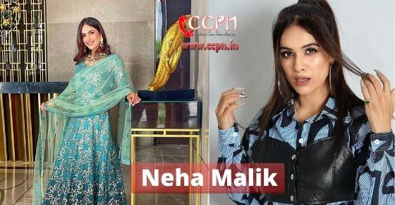 How to contact Neha-Malik