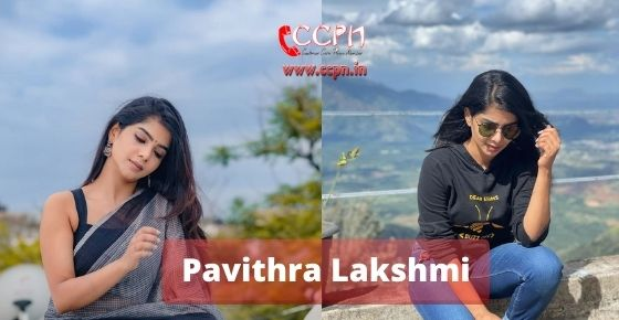 How to contact Pavithra Lakshmi