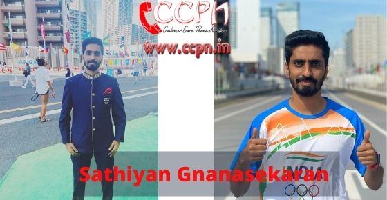 How to contact Sathiyan-Gnanasekaran
