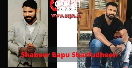 How to contact Shabeer-Bapu-Sharfudheen