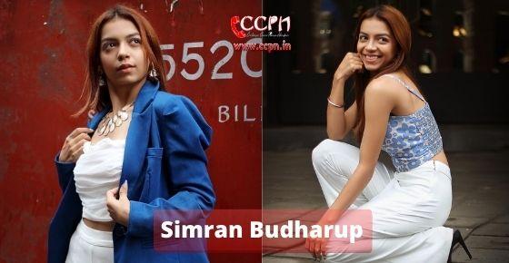 How to contact Simran-Budharup