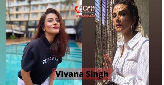 How to contact Vivana Singh