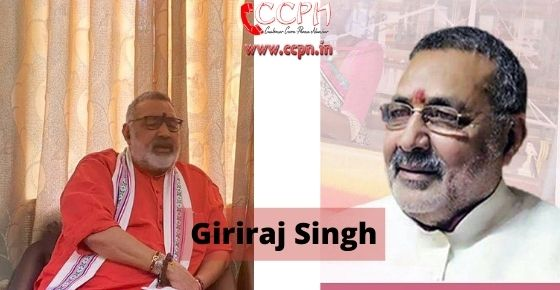 How to contact Giriraj-Singh