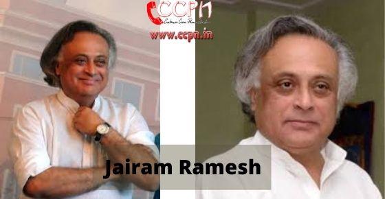 How to contact Jairam-Ramesh
