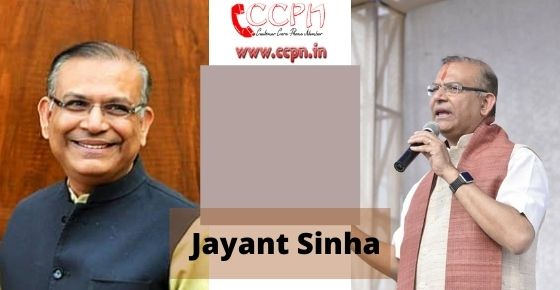 How to contact Jayant-Sinha