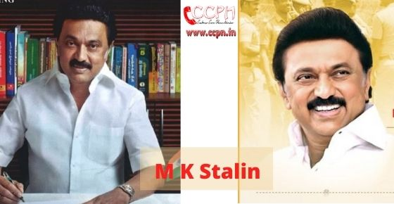 How to contact M-K-Stalin