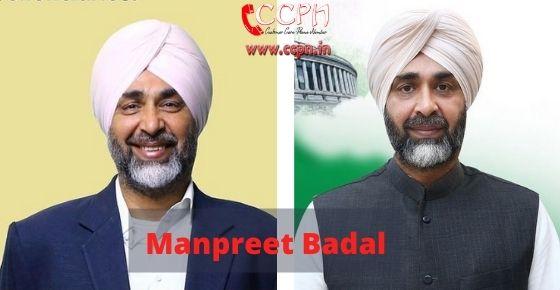 How to contact Manpreet-Badal