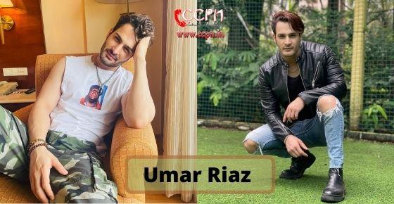 How to contact Umar-Riaz