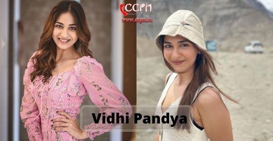 How to contact Vidhi-Pandya